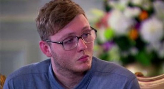 James Arthur at judges houses