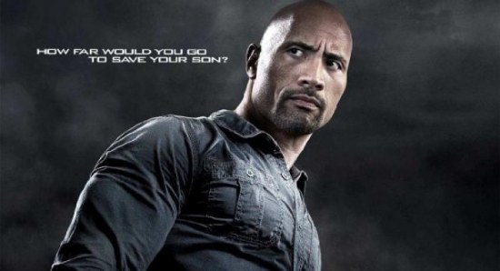 Dwayne Johnson Snitch poster