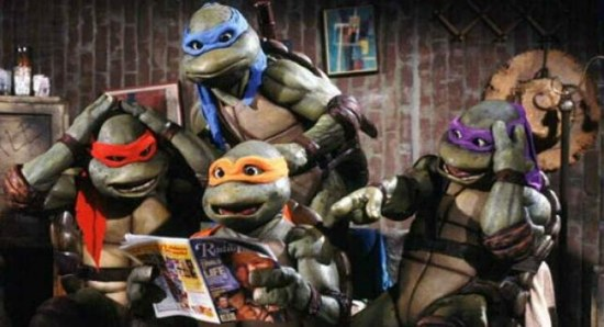 The original Teenage Mutant Ninja Turtles