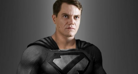 Michael Shannon in Zod costume