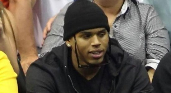 Chris Brown had a bust up with Frank Ocean