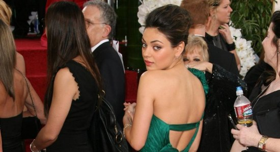 Mila Kunis at the Oscars