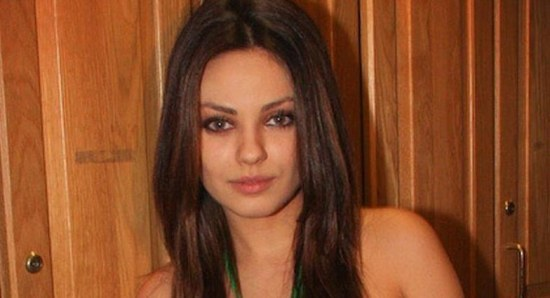 Mila Kunis promoting Family Guy