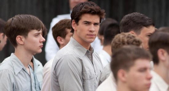 Liam Hemsworth as Gale Hawthorne in The Hunger Games