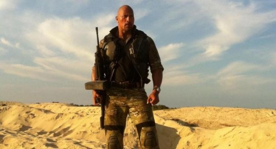 Dwayne Johnson in G.I. Joe