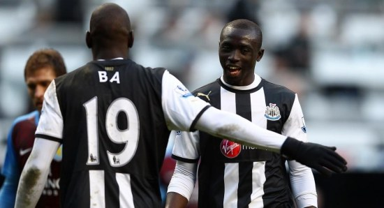 Papiss Cisse is also hoping to benefit from Ba's exit