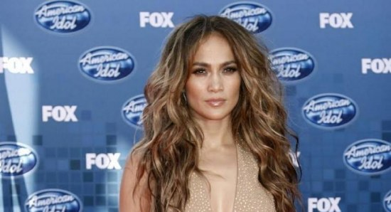 Jennifer Lopez during her judging stint on 'Idol'