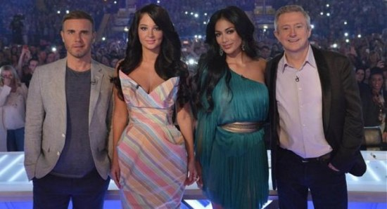 Nicole Scherzinger on The X Factor UK