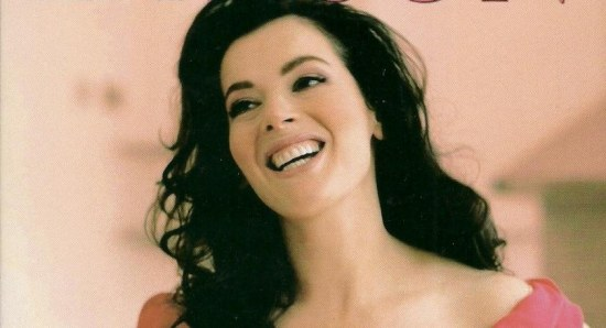 Nigella Lawson on the cover of one of her books