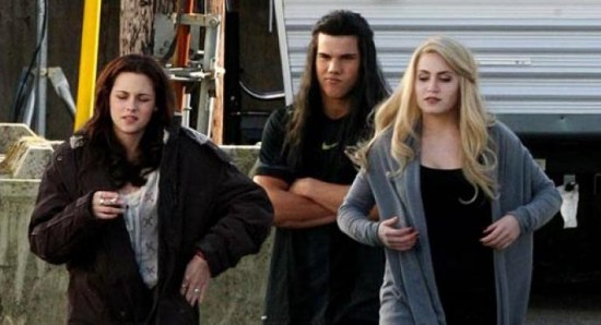Rosalie, Bella and Jacob