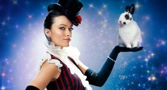 Olivia Wilde in The Incredible Burt Wonderstone poster