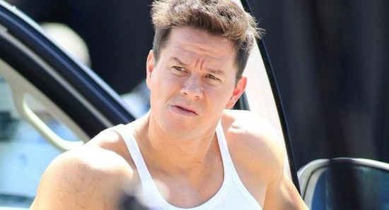 Mark Wahlberg filming Pain & Gain