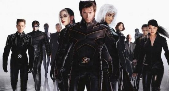 The original X-Men trilogy cast
