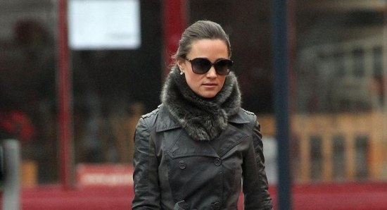 Pippa Middleton is prepared for the London winter