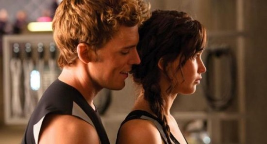Sam Claflin in an official still from 'Catching Fire'