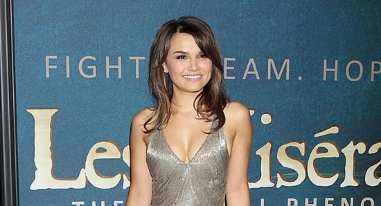 Samantha Barks at a screening for 'Les Miserables'