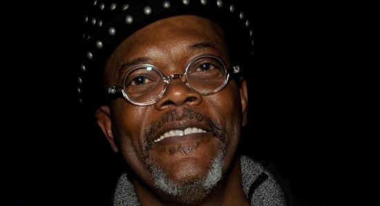 Samuel L. Jackson out and about