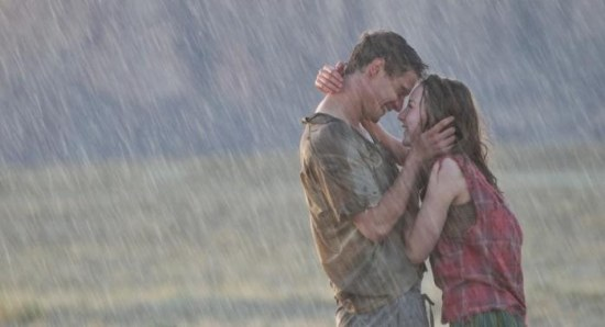 Saoirse Ronan and Max Irons in 'The Host'