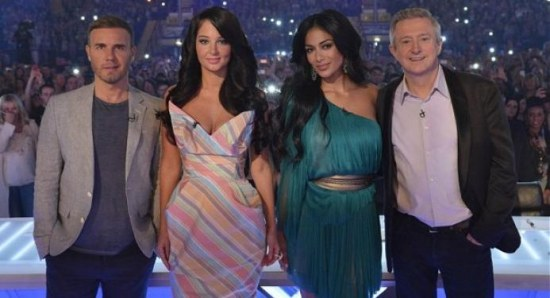 Last year's X Factor judges