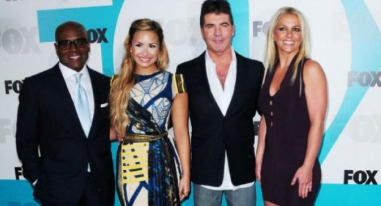 X Factor USA judges 2012