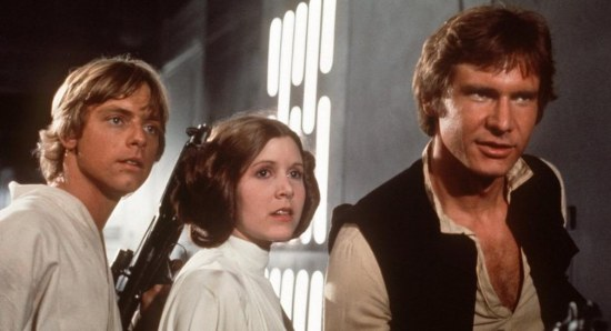 The original Star Wars trio