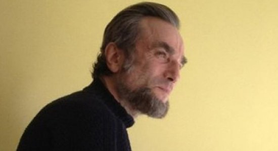 Daniel Day-Lewis with his Lincoln look