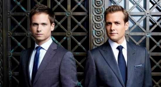 Mike Ross and Harvey Spector