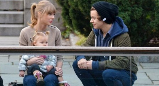 Taylor Swift with ex Harry Styles