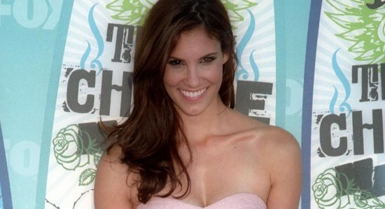 Daniela Ruah poses for photos
