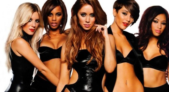 Frankie Sandford with The Saturdays