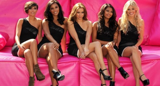 The Saturdays pose for photo
