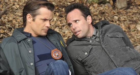 Scene from an episode of Justified