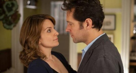 Tina Fey with Paul Rudd in Admission
