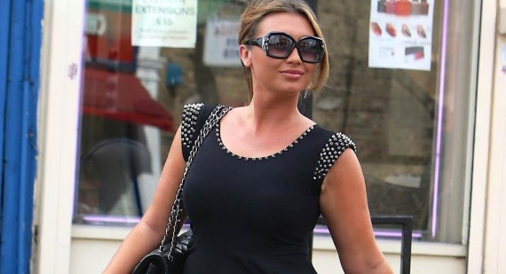 Amy Childs praises Lauren Goodger's figure