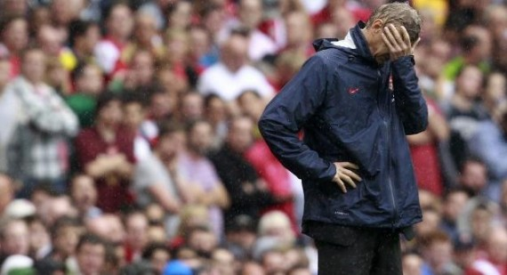 Arsene Wenger looks for Arsenal replacements after a run of poor performances