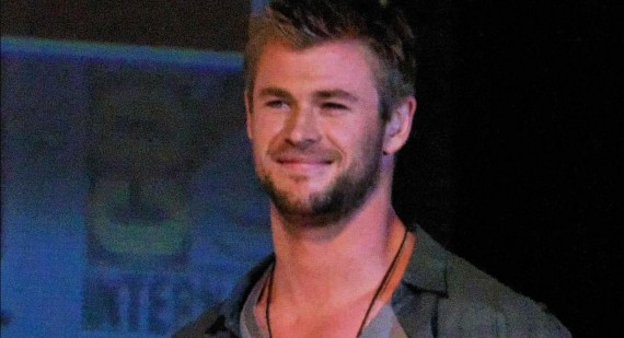 Chris Hemsworth talks Adrianne Palicki Red Dawn relationship