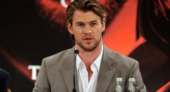 Chris Hemsworth to play Christian Grey in Fifty Shades of Grey movie?