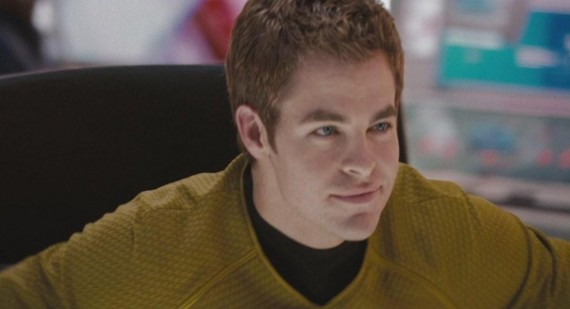 What did you think of Chris Pine as kirk in new Star Trek?