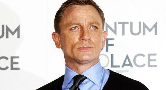 Daniel Craig in the dark over The Girl Who Played with Fire