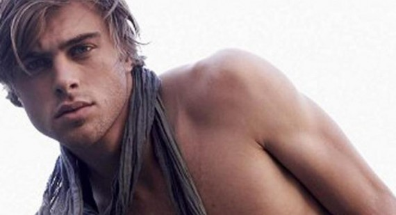 Devin Paisley to swap modelling for acting as Christian Grey in the Fifty Shades of Grey movie?