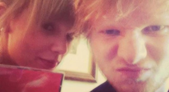 Ed Sheeran spent the night with Taylor Swift before Brit Awards