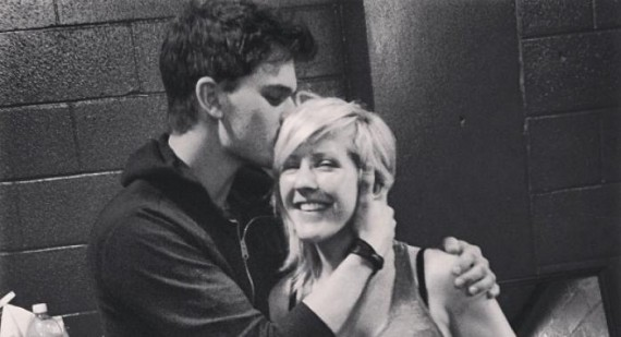 Ellie Goulding is dating Jeremy Irvine