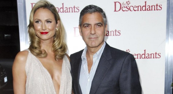 George Clooney and Stacy Keibler are about to break up