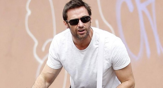 Hugh Jackman says extreme diet and fitness regime is behind The Wolverine poster