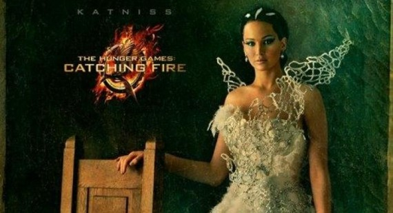 Jennifer Lawrence, Jena Malone, and Jeffrey Wright in new Catching Fire portraits