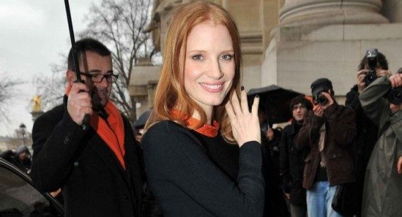Jessica Chastain compares the Golden Globes to Prom
