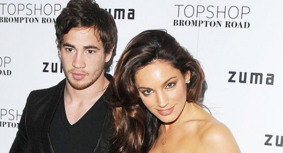 Kelly Brook flaunts rekindled romance with Danny Cipriani