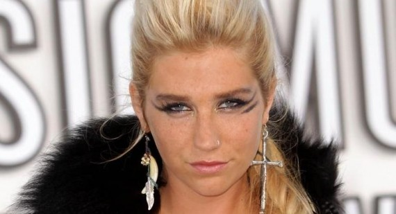 How did Ke$ha end up working with dr.luke and max martin?