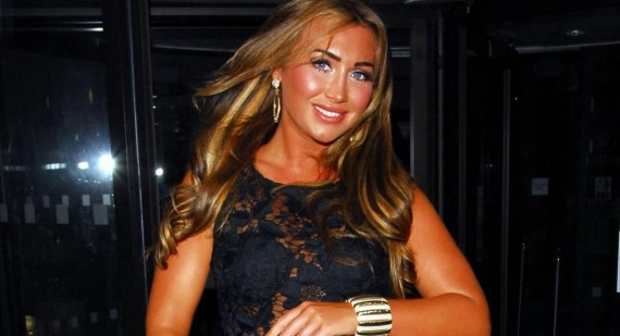 Lauren Goodger blames TOWIE for weight issues