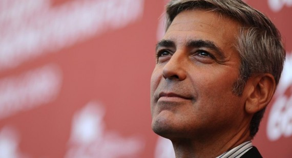 What is George Clooney's real name and is he originally Italian?
